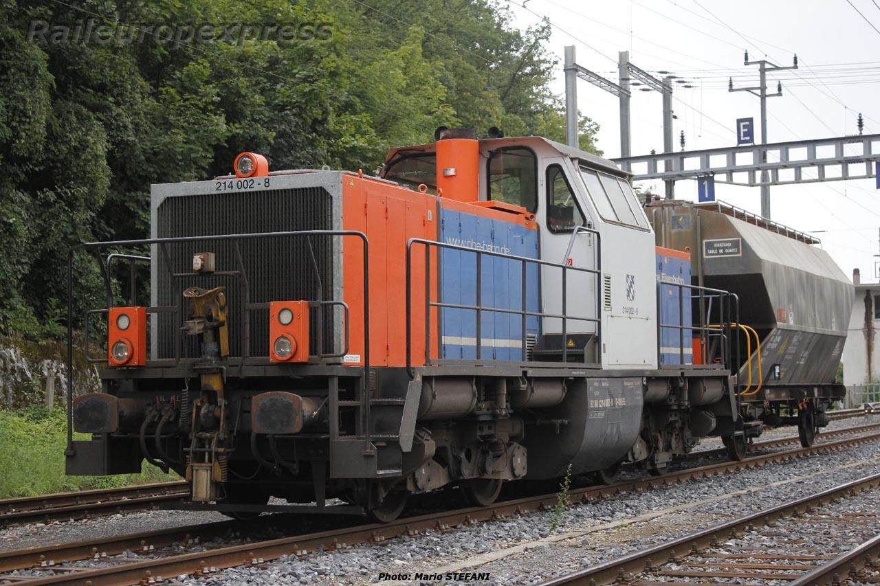 214 002-8 NBEG à Neuchâtel (CH)