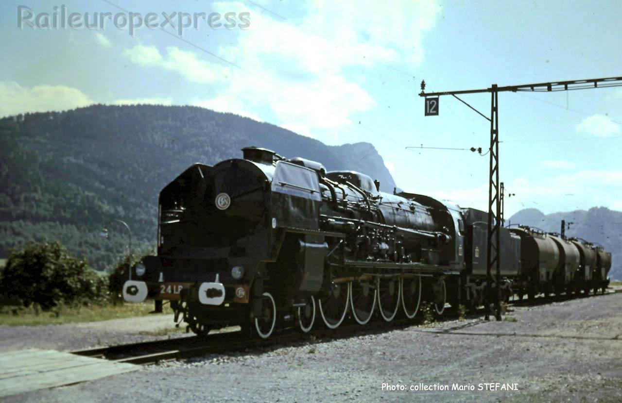 241 P SNCF à Vallorbe (CH)