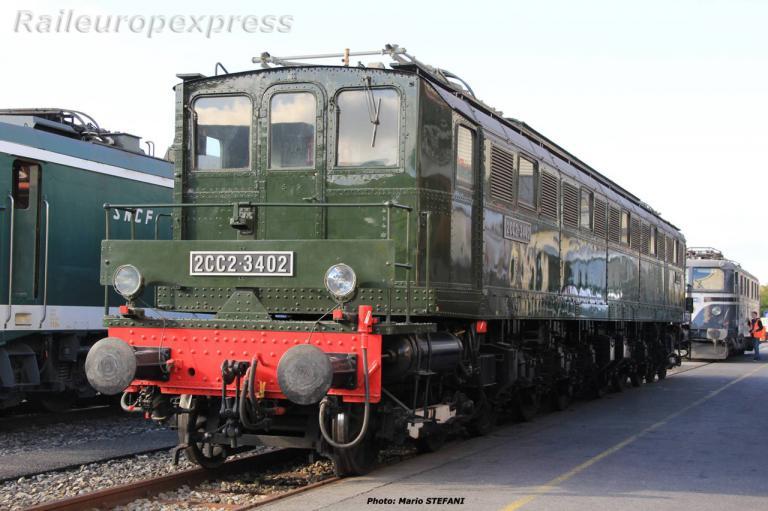 2CC2 3402 SNCF à Genève (CH) 1