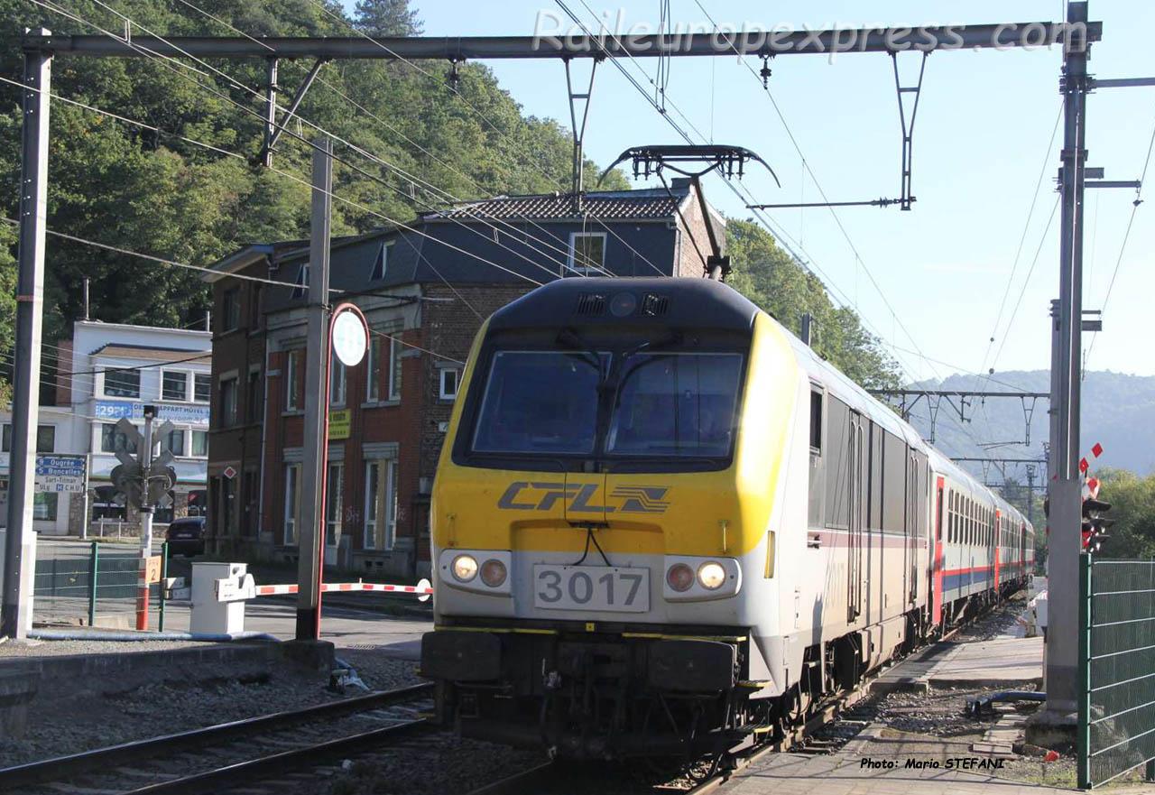 3017 CFL à Tilff (B)