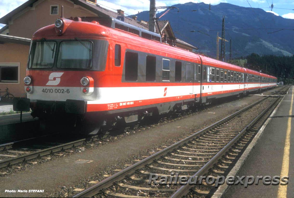 4010 002 6 OBB à Saalfelden