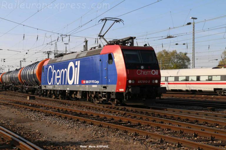 482 012-2 CFF à Basel (CH)