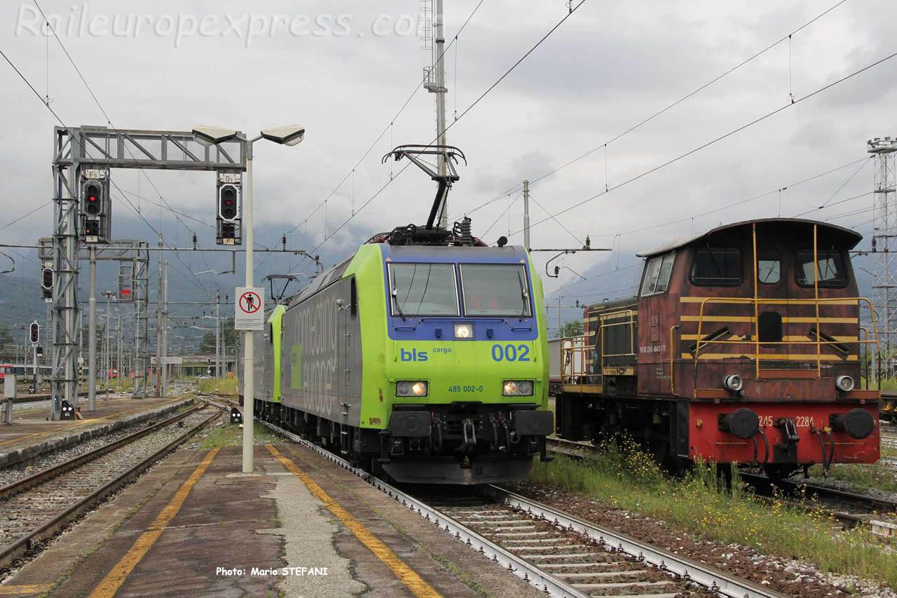 485 002-0 BLS à Domodossola (I)