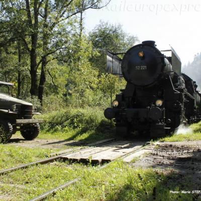 52 221 ex DB à Saint Sulpice (CH)