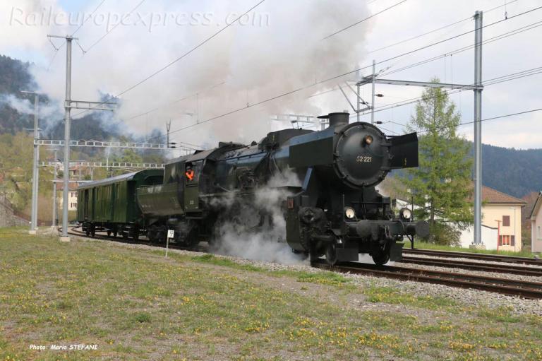 52 221 VVT à Travers (CH)