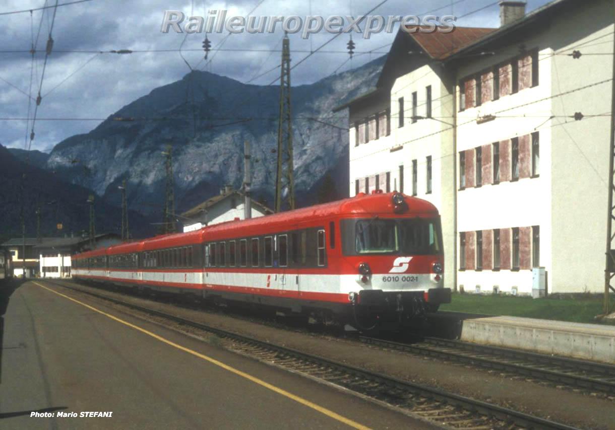 6010 002-1 OBB à Saalfelden