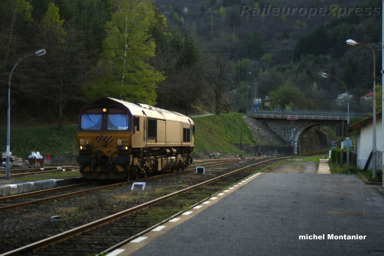 66215 ECR à Villefort (F 48)