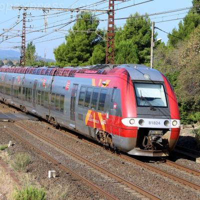 BGC 81824 SNCF à Conilhac Corbières (F-11)