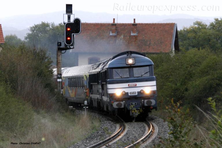 A1A A1A 68540 SNCF à Arvant (F-43)