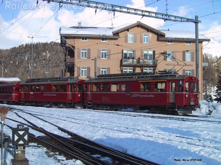 ABe 4/4 30 RhB à Saint Moritz (CH)