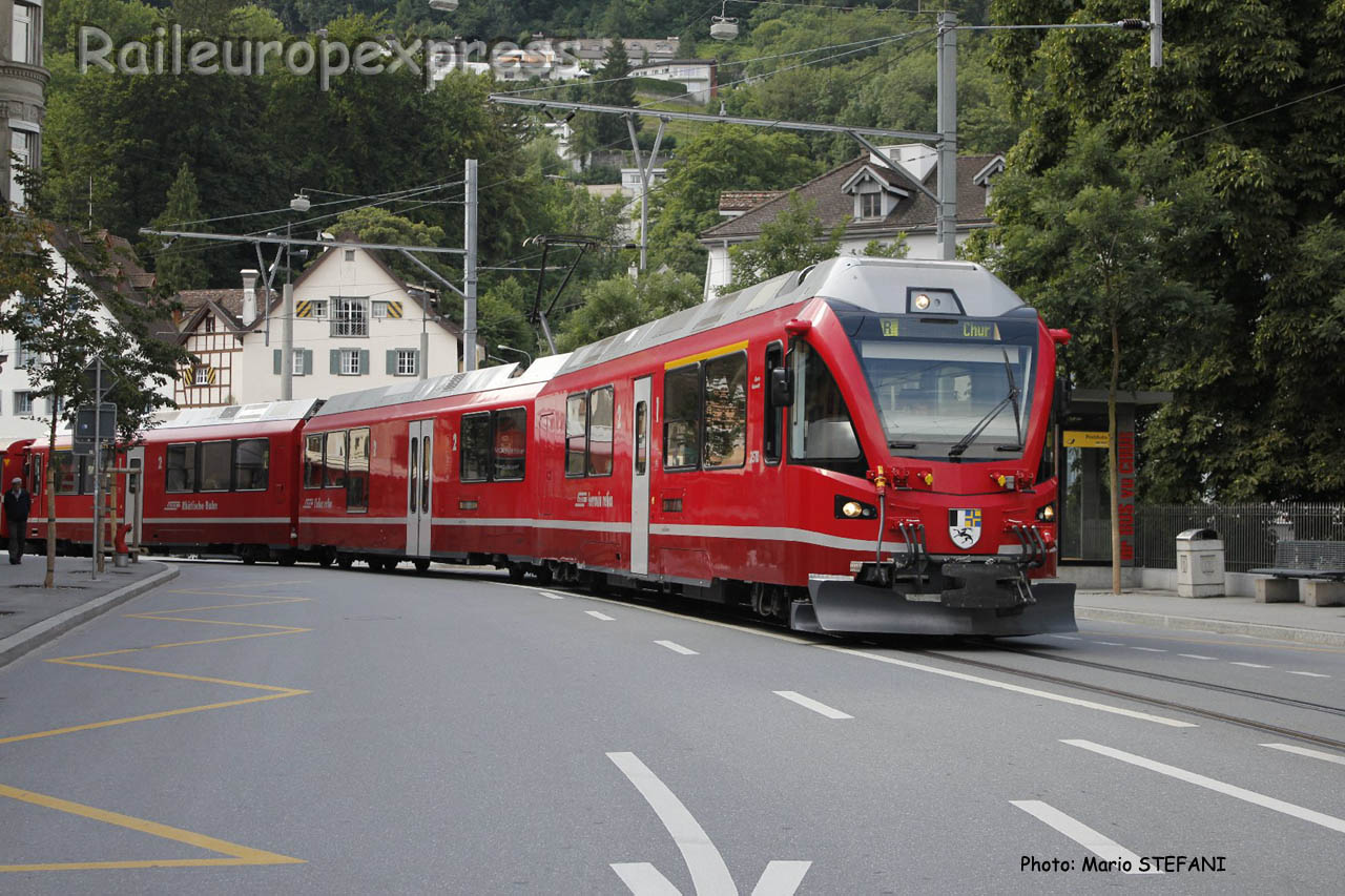 ABe 812 RhB à Chur (CH)