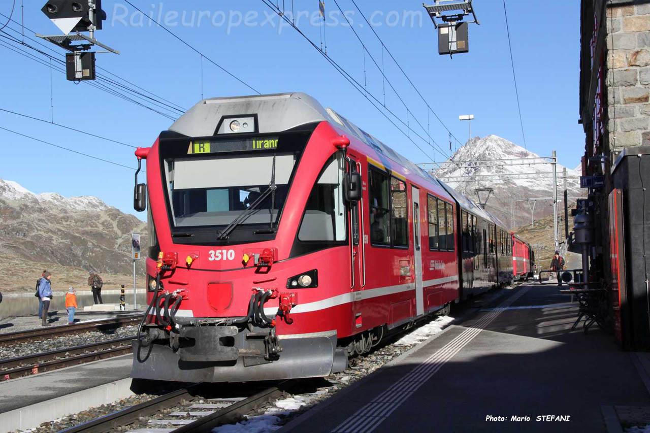 ABe 812 RhB à Ospizio (CH)