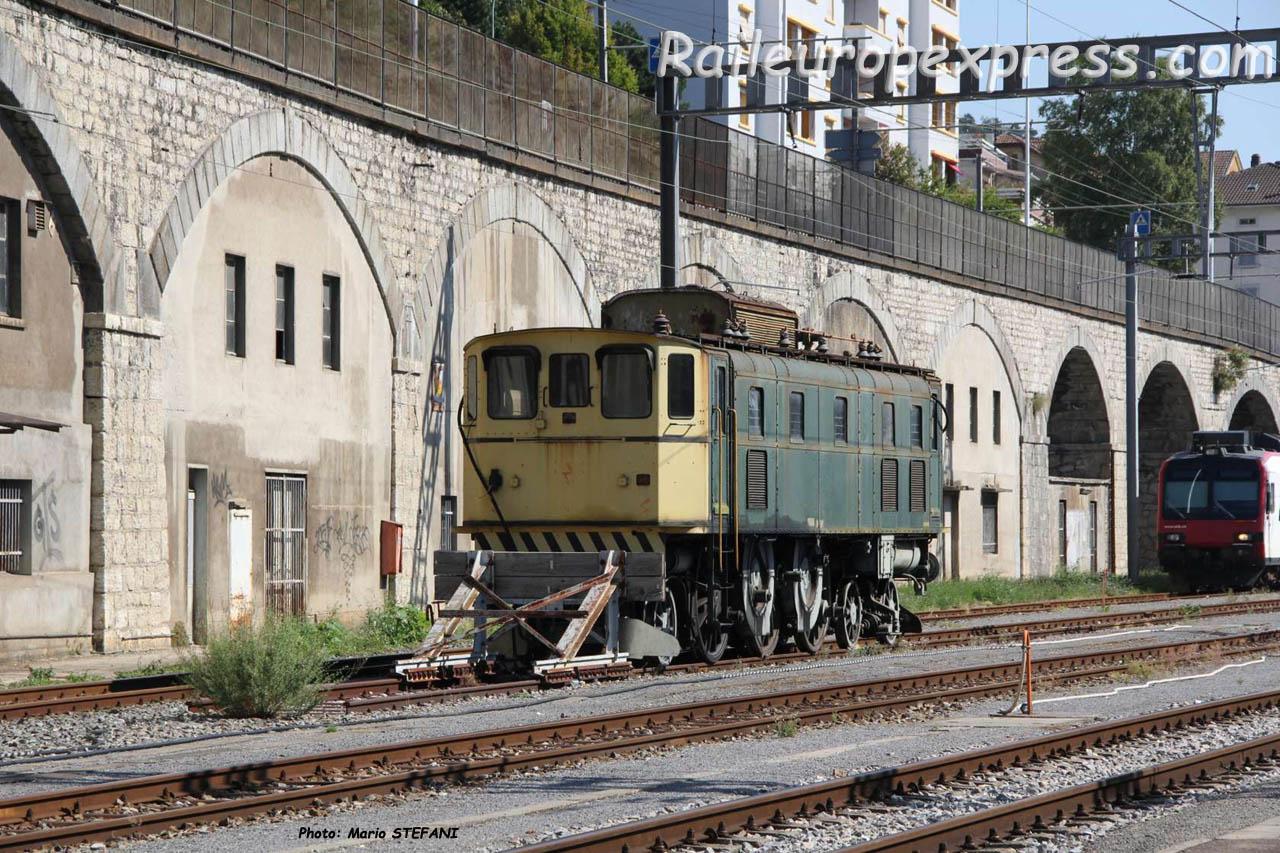 Ae 3/6 II 14000 CFF à Neuchâtel (CH)
