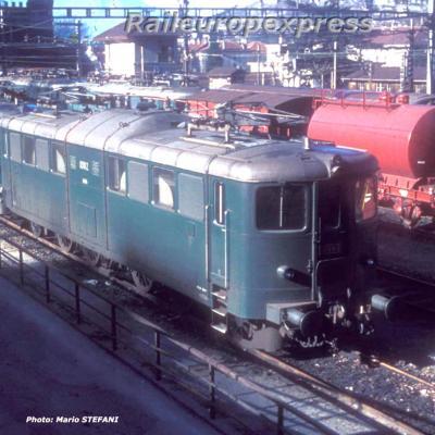 Ae 4/6 10812 CFF à Bellinzona (CH)