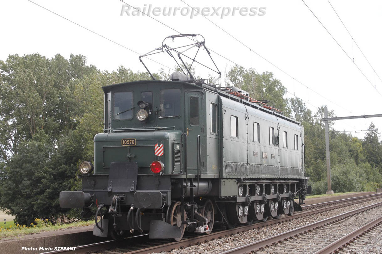 Ae 4/7 10976 CFF à Boudry