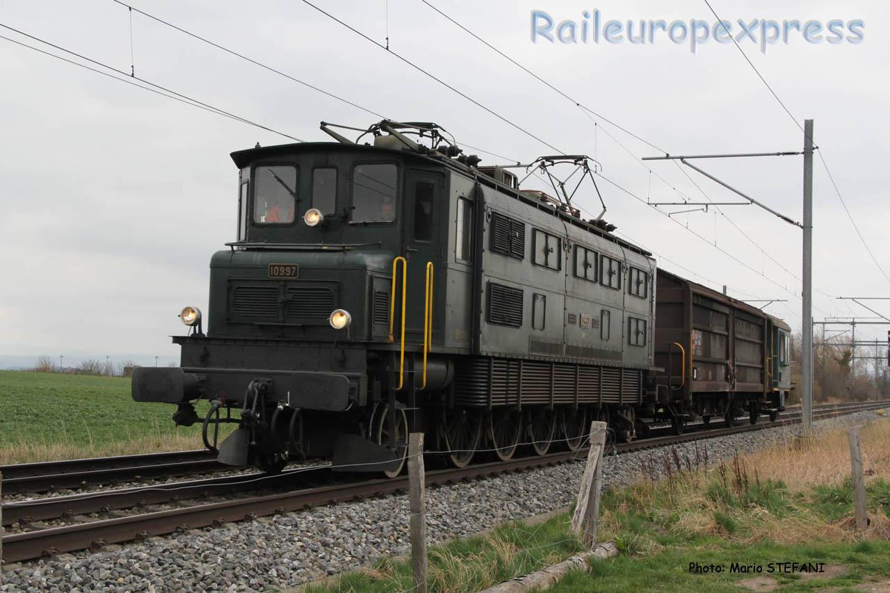 Ae 4/7 10997 CFF à Boudry (CH)