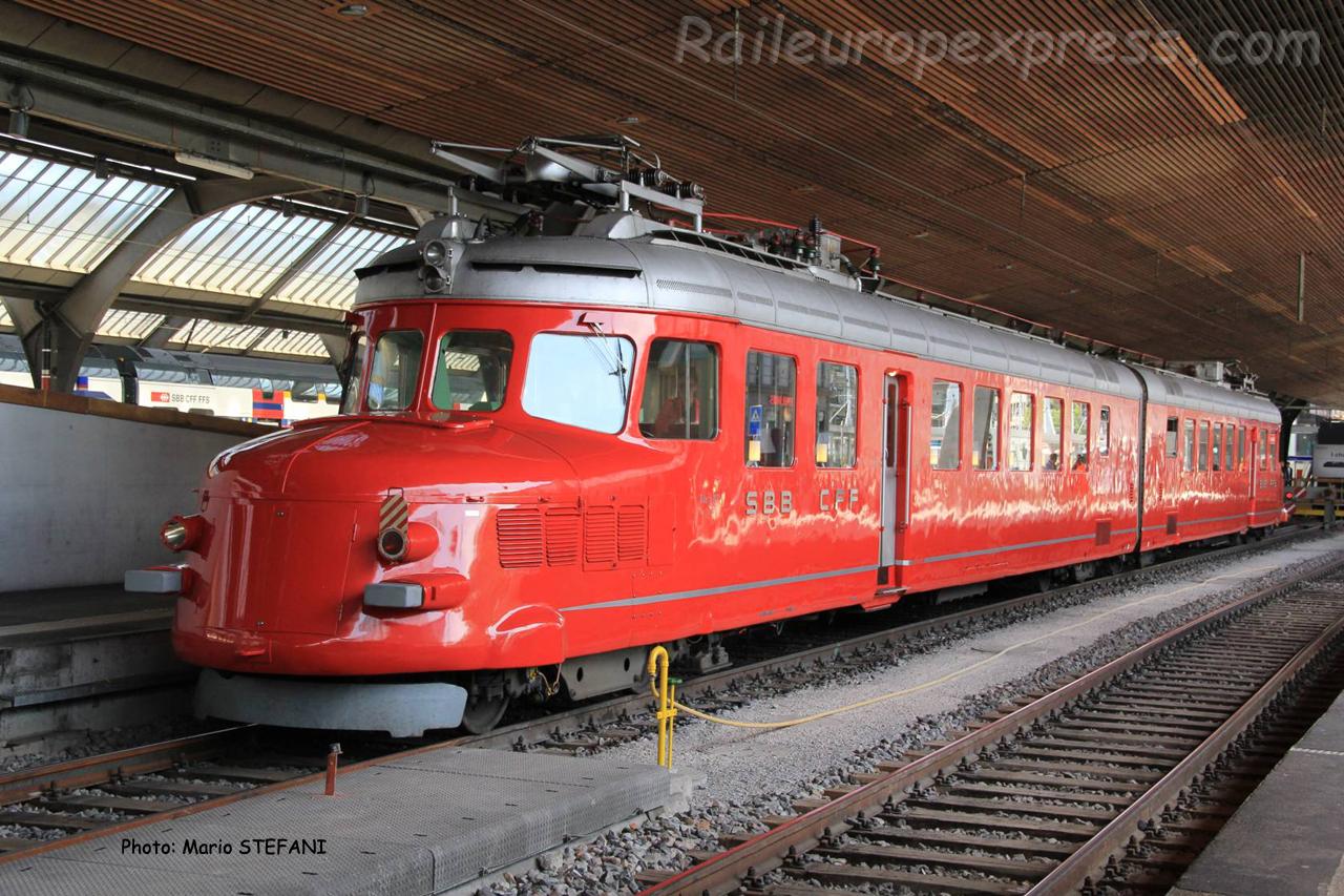 Ae 4/8 1021 CFF à Zürich (CH)