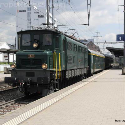 Ae 4/7 11026 CFF à Pratteln (CH)