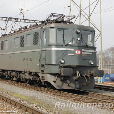 Ae 6/6 11404 CFF à Muttenz