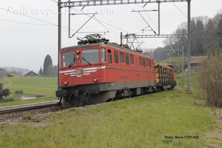 Ae 6/6 11419 CFF à Kümm (CH)