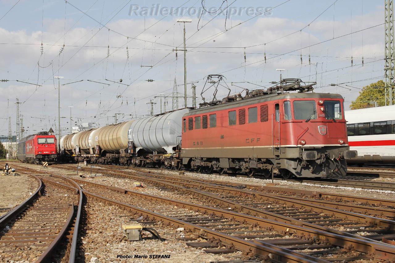 Ae 6/6 11485 CFF à Basel (CH)