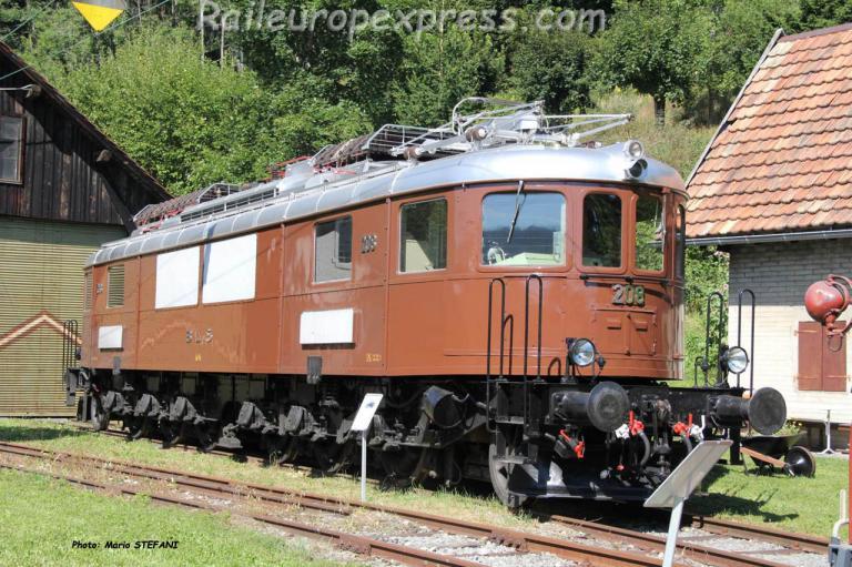 Ae 6/8 208 BLS Le Locle (CH)