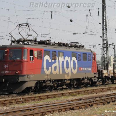 Ae 610 487-1 CFF à Basel