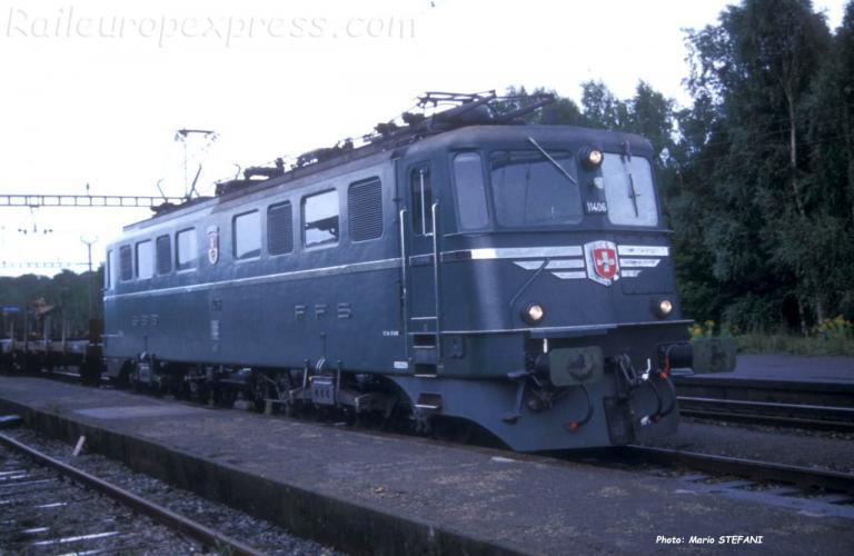 Ae 6/6 11406 à Onnens (CH)