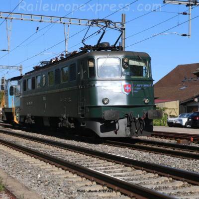 Ae 6/6 11421 CFF à Boudry (CH)