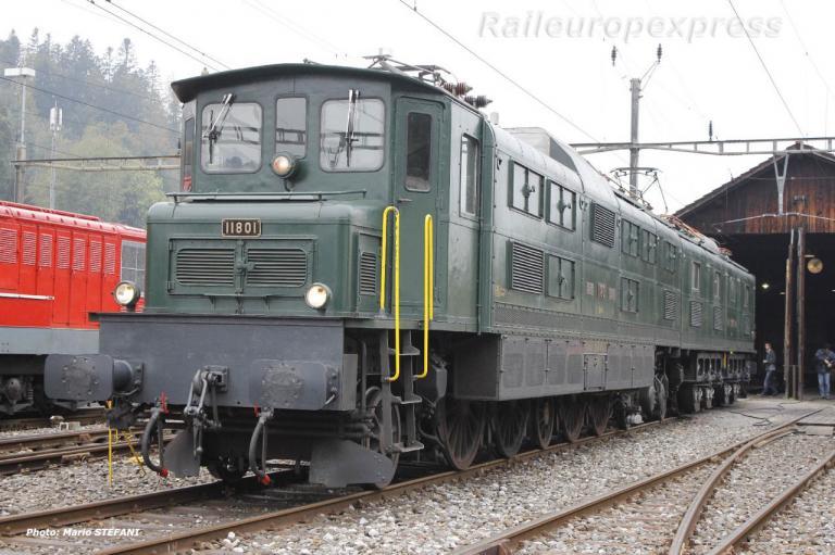 Ae 8/14 11801 CFF à Bauma
