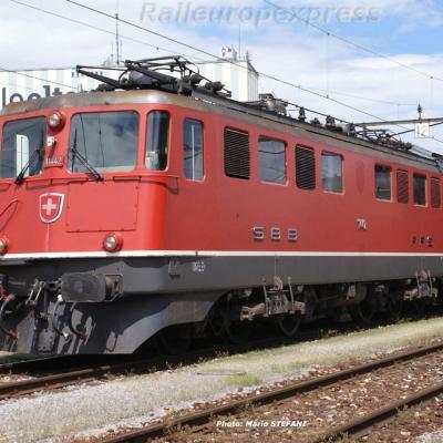 Ae 6/6 11442 CFF à Olten