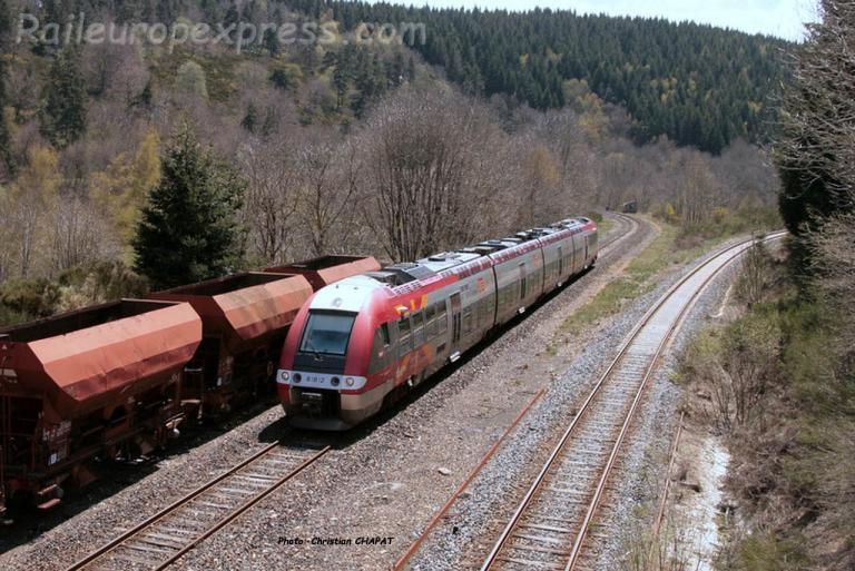 AGC SNCF à La Bastide Saint Laurent (F-48)
