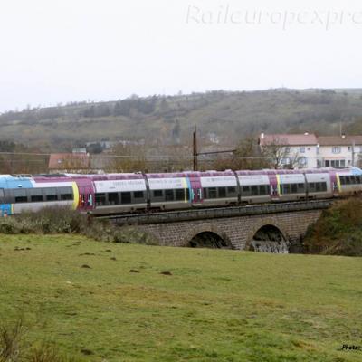 AGC SNCF au Saillant (F-15)