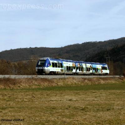 AGC SNCF près de Massiac (F-15)