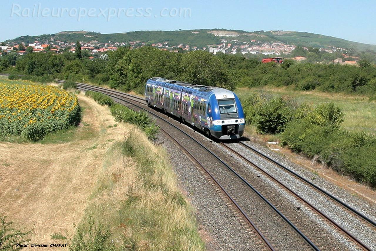 AGC SNCF près du Cendre (F-63)