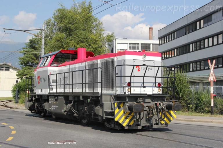 Am 842 705-6 Travys aux Granges Orbe (CH)
