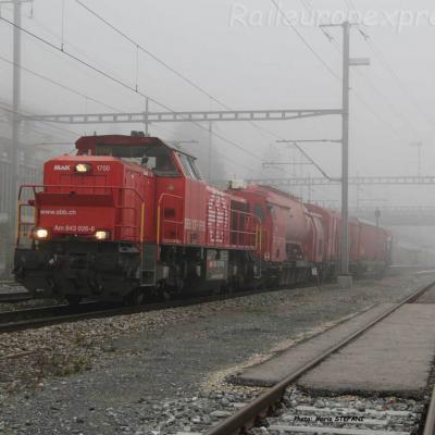 Am 843 026-6 CFF à Auvernier (CH)