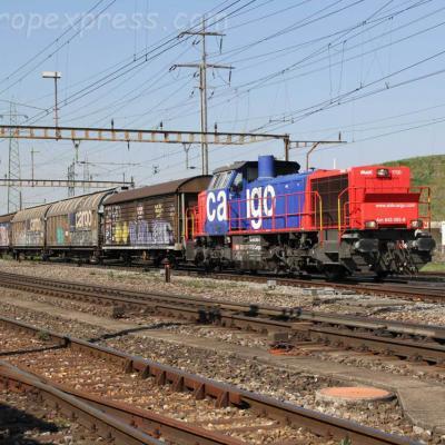 Am 843 092-8 CFF à Pratteln (CH)