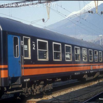 B I4 SNCB à Brig (CH)