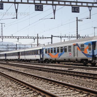B6Dd2u SNCF voiture de service trains de pélerinage à Genève (CH)