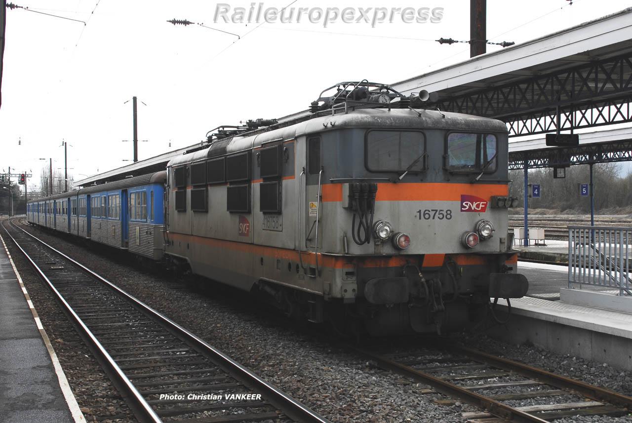 BB 16758 SNCF à Sedan