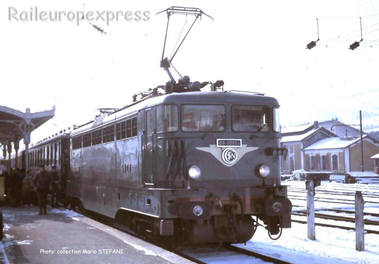BB 20004 SNCF à La Roche sur Foron (F-74)