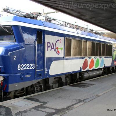 BB 22223 SNCF à Paris Bercy (F-75)