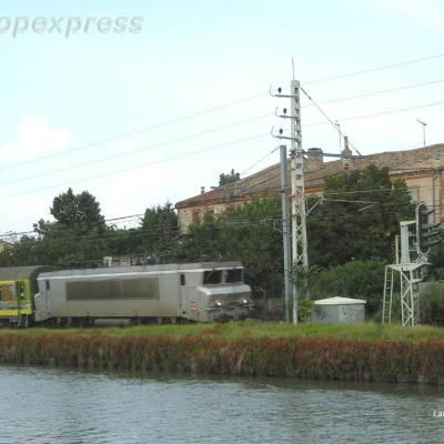 BB 22223 SNCF à Pompignan (F 82)