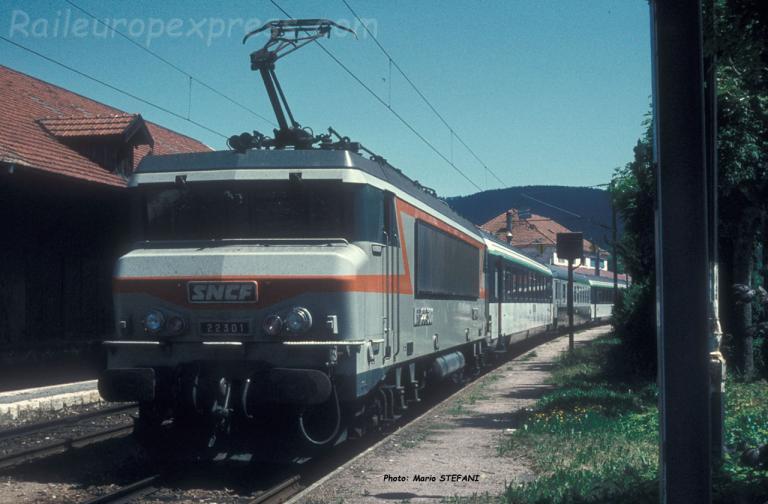 BB 22301 SNCF à Pontarlier (F-25)