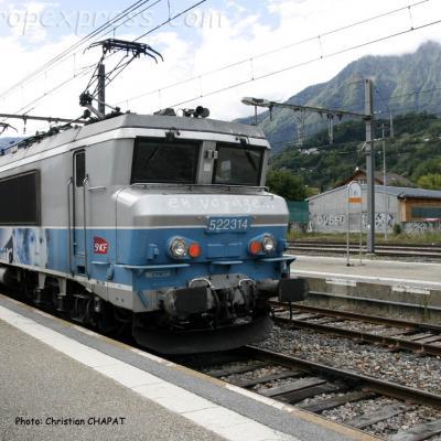 BB 22314 SNCF à Albertville (F-73)