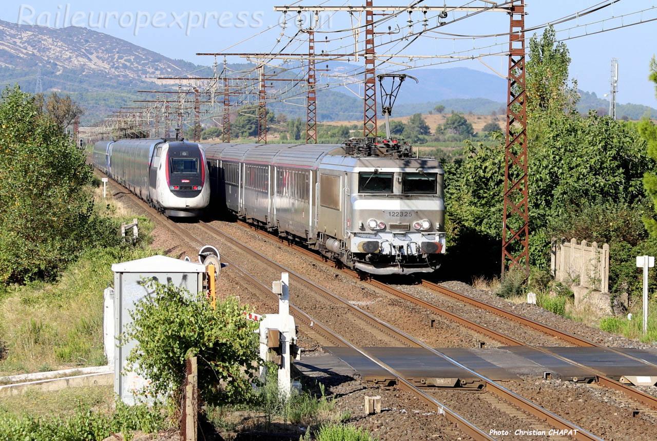 BB 22325 SNCF à Conilhac Corbières (F-11)
