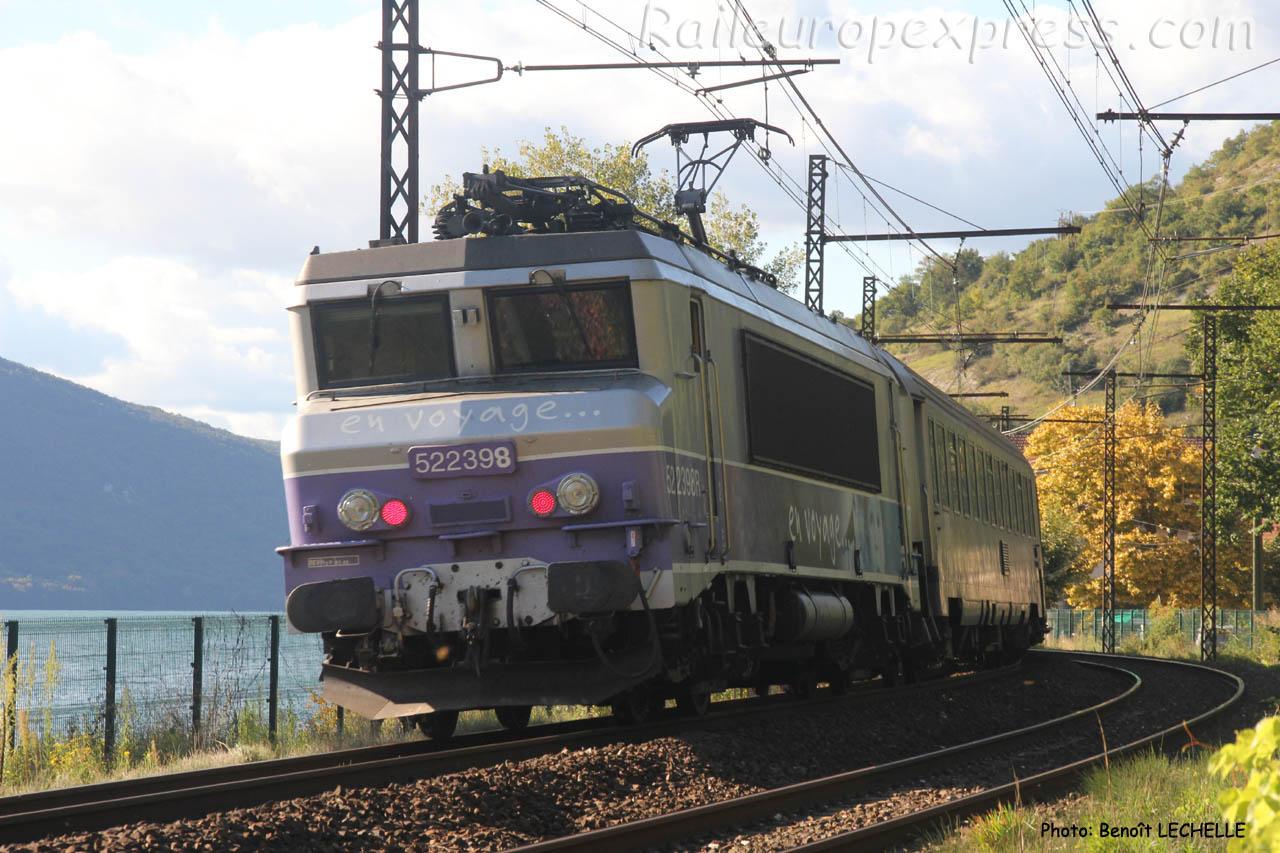 BB 22398 SNCF à Brison (F-74)