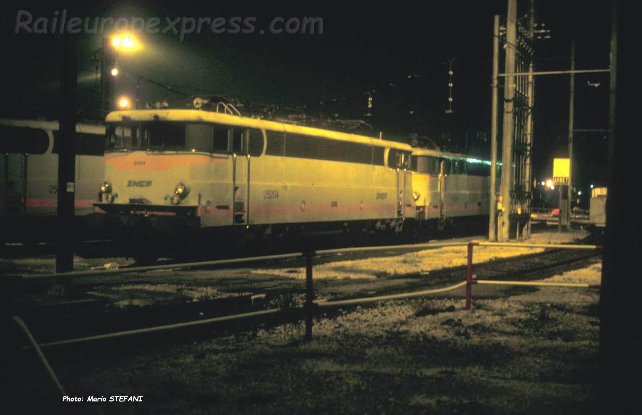 BB 25204 SNCF à Lyon (F-69)