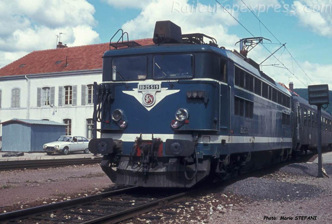 BB 25519 SNCF à Pontarlier (F-25)